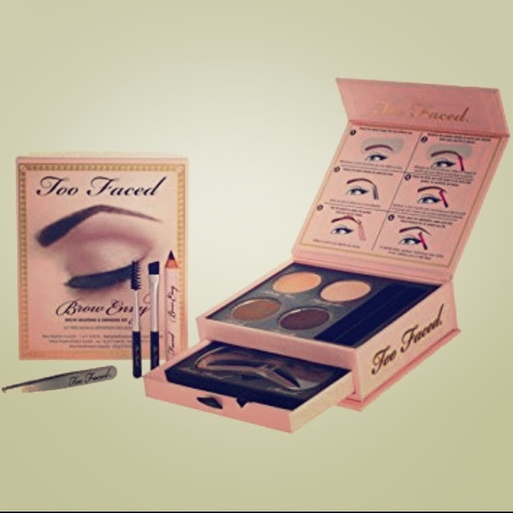 Too Faced Makeup Brow Envy Brow Shaping Defining Kit Poshmark